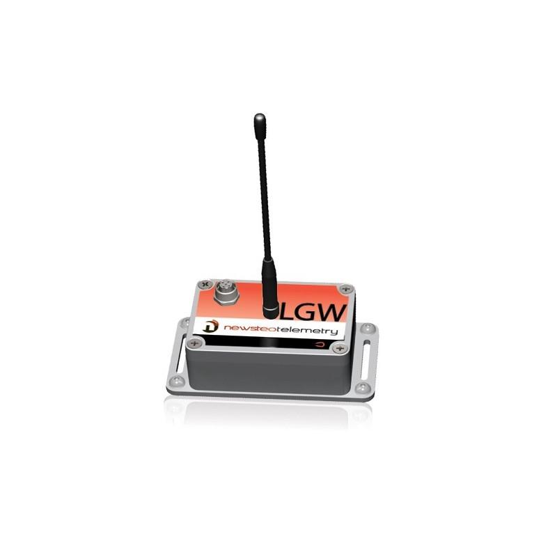 Logger industriel LGW38 IP65 pour capteur externe 0-5V (sortie d'alimentation 10