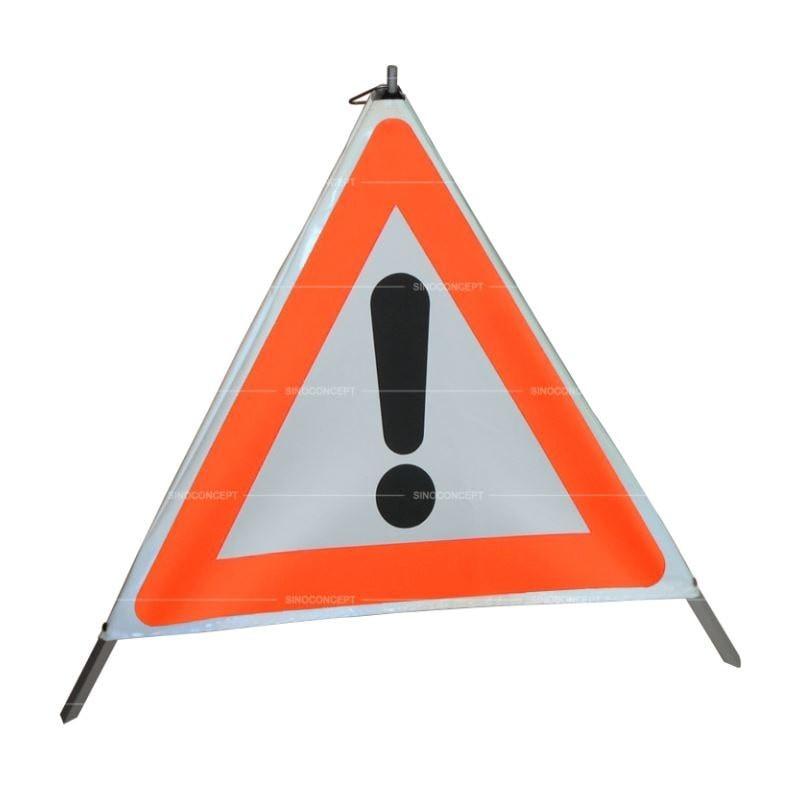 "Tripode de signalisation "" danger ! "" 70cm REF: VZ101 - 881073G"