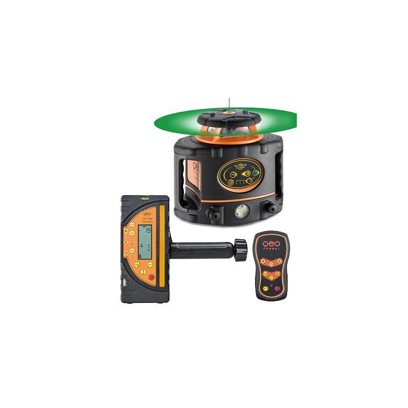 Laser FLG265 GREEN motorisé HZ+ V+Scan +télécommande + FR77MM