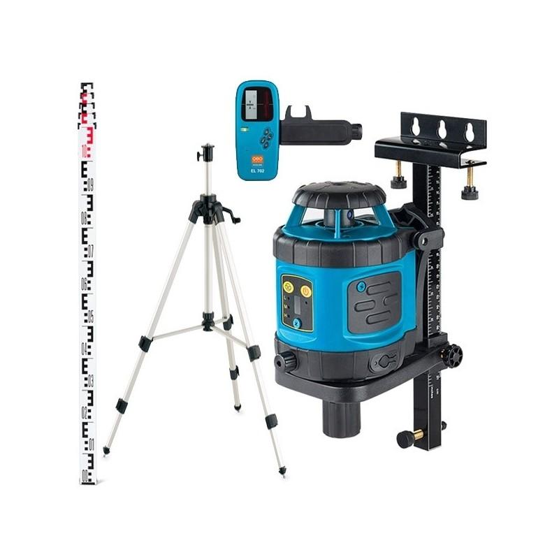 Laser EL515PLUS ECOLINE + MIRE + TREPIED + CELLULE + CIBLE + CHARGEUR