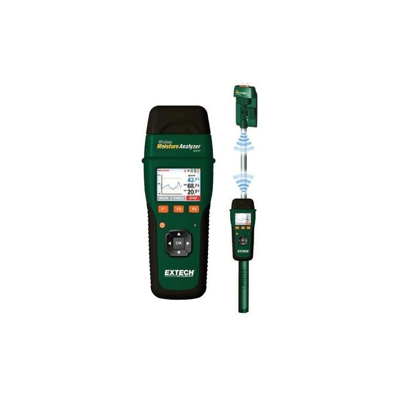 Sonde de mesure d'humidité sans fil Extech MO270