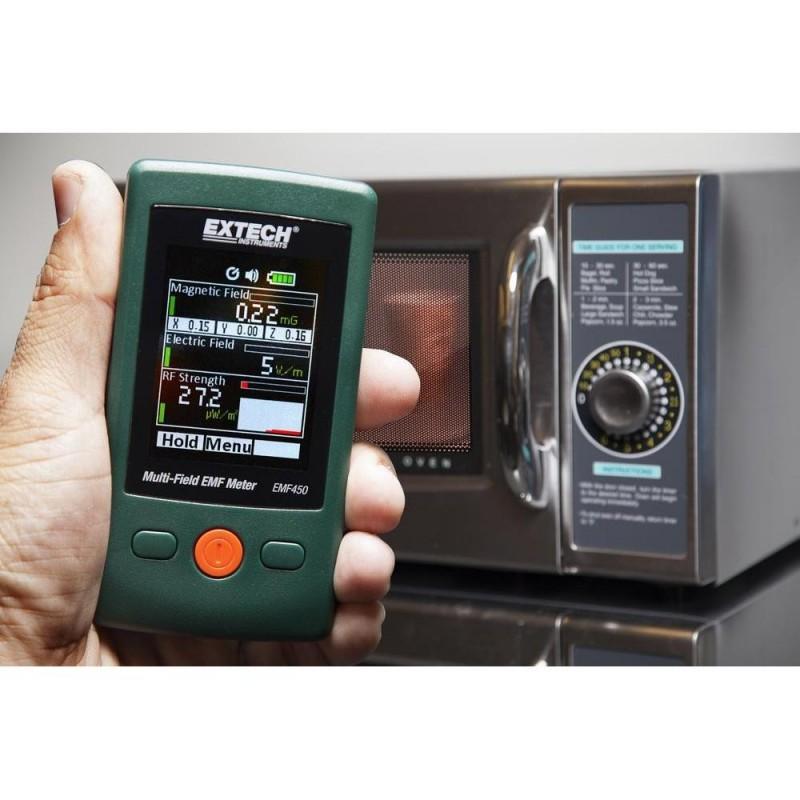 Mesureur de champ électromagnétique EXTECH EMF450