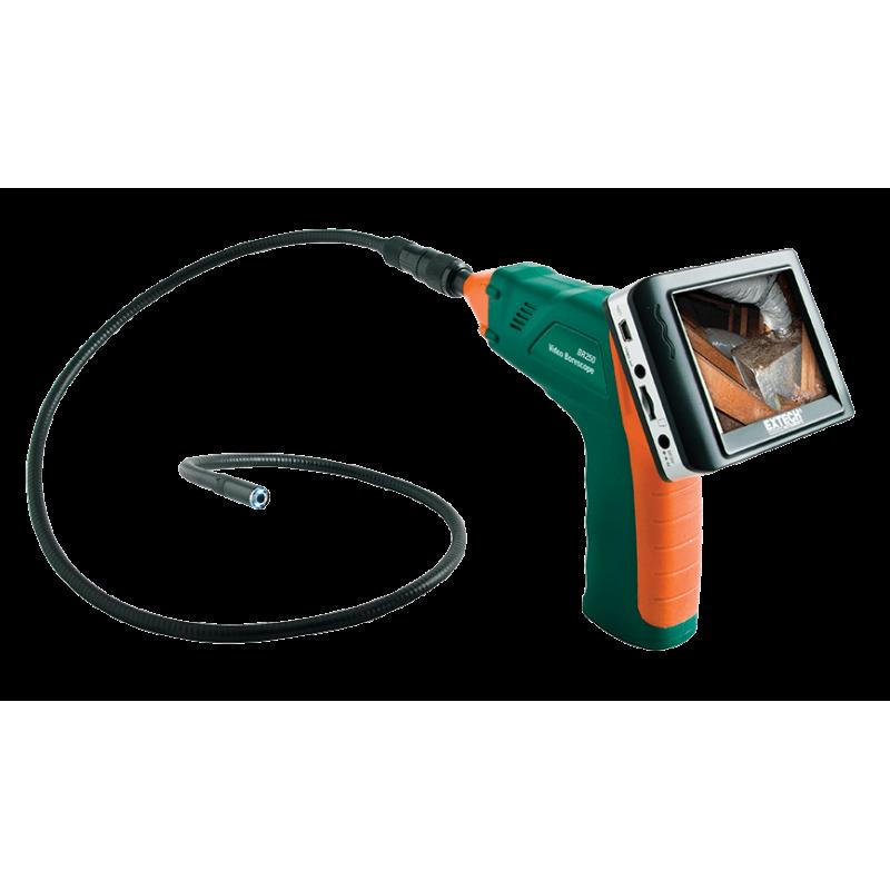 BR250: endoscope vidéo / Caméra d'inspection sans fil diam 9mm
