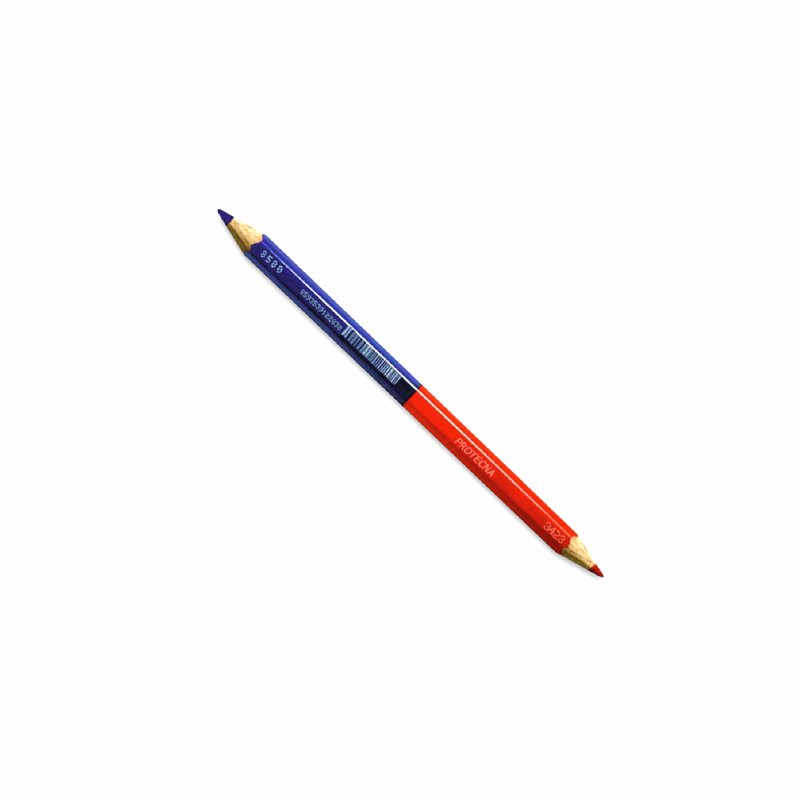 Crayon BI-SCRIT 2 couleurs 18 cm LOT de 3