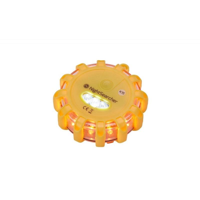 Warning LED 360° Nestle (Jaune) à piles