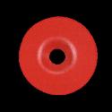 Rondelle calibel ROUGE pour pointe striée acier trempé sac de 100 pc FENO