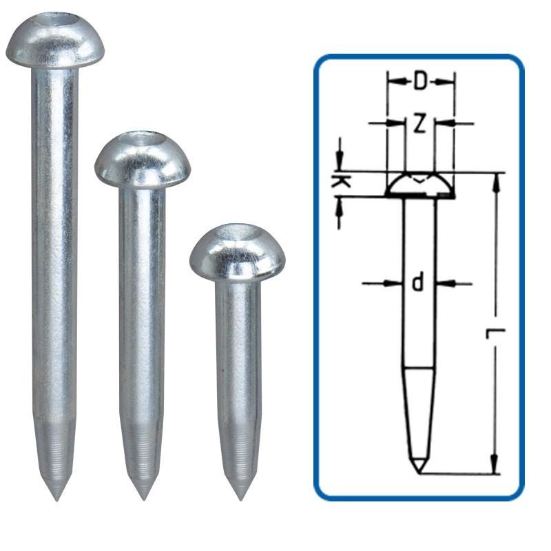 Repères demi sphériques DS 100mm (x100)