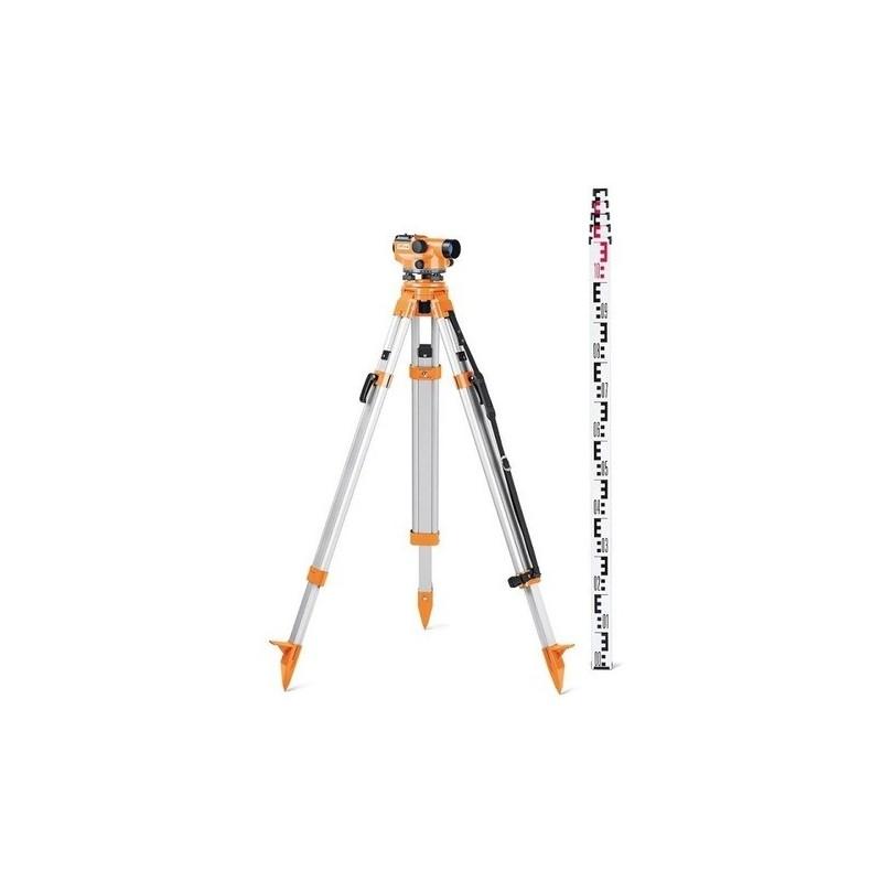 Pack Niveau optique N32 SET + trépied +Mire 5m (grade)