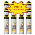 Carton de 12 Traceurs de chantier FLUO TP Jaune Soppec
