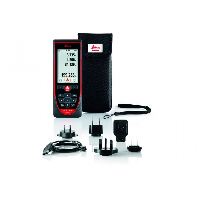 DISTO D810 Touch + Bluetooth® Leica Télémètre laser - Distancemètre