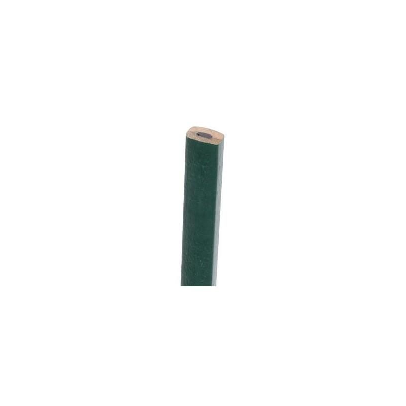 Crayon de maçon vert elliptique 30 cm MAP30 (pierre)