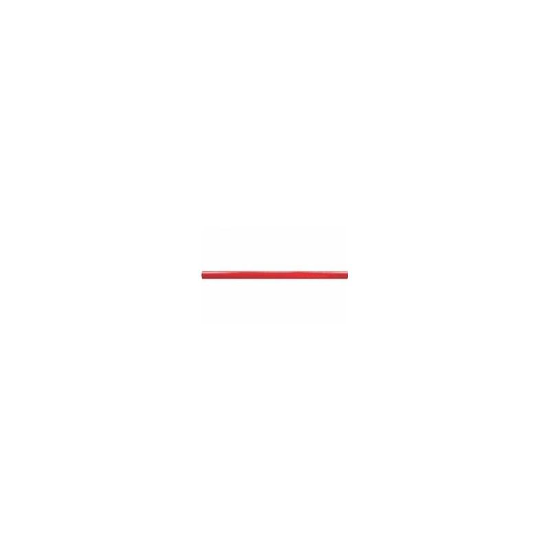 Crayon de maçon rouge elliptique 30 cm CAP30 (bois)