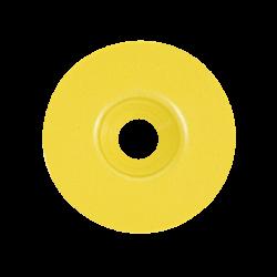 Rondelle calibel JAUNE pour pointe striée acier trempé sac de 100 pc FENO
