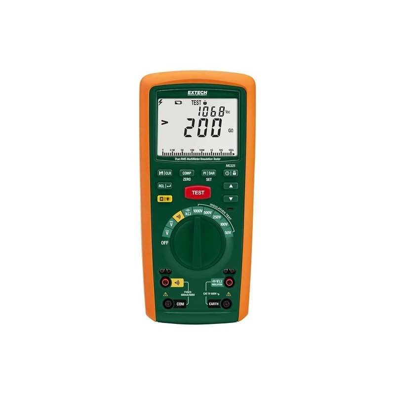 Testeur d'isolement / Multimètre digital Extech MG325