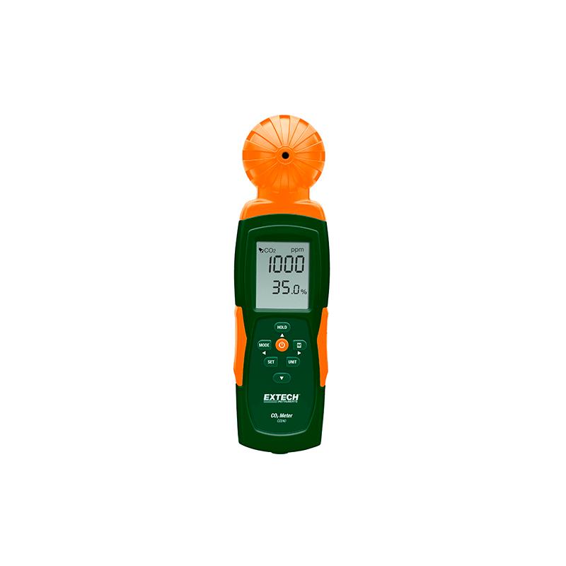 Instrument portable pour mesurer la teneur en CO2 de l'air intérieur - CO240