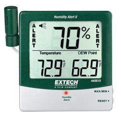 Alertes d'humidité et point de rosée avec sonde distante EXTECH REF 445815