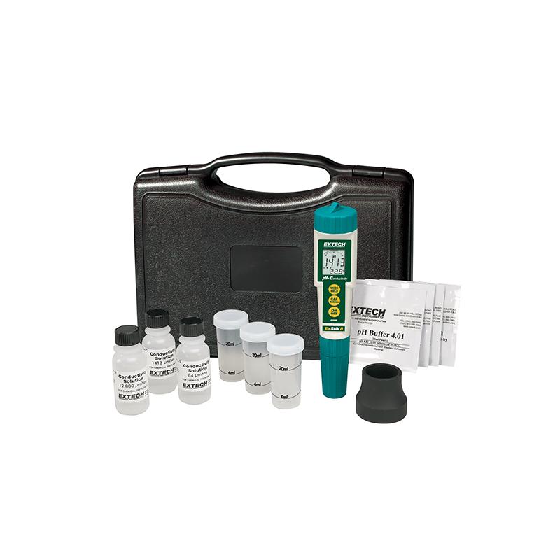 PH METRE appareil et kit de mesure pH / conductivité ref : EC510