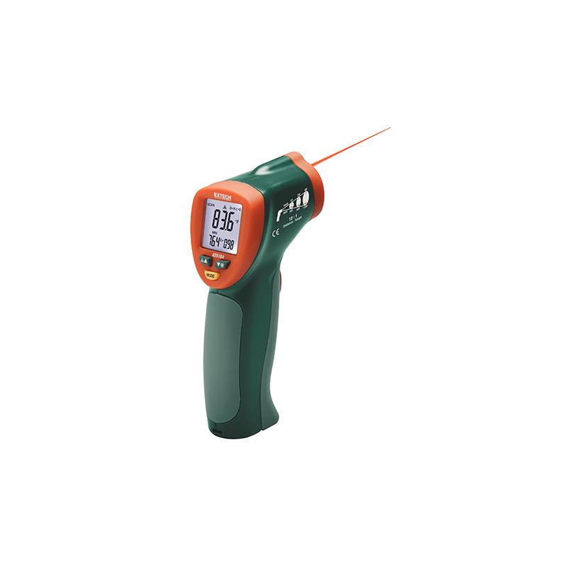 Thermomètre IR compact à laser 650 °C 12:1 REF 42510A