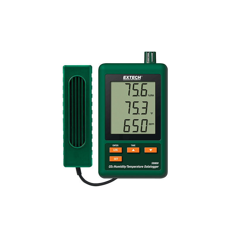 Enregistreur - Datalogger SD800 CO2/HUMIDITY/TEMPERATURE