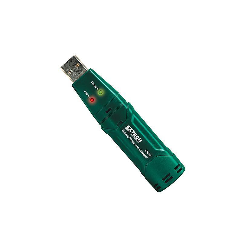 RHT10 Enregistreur des données USB d'humidité et de T° REF RHT10