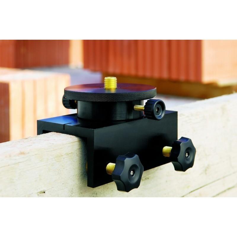 """support 5/8"""" charpente pour laser rotatifs, niveaux, théodolites"""