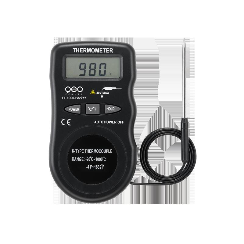 Thermomètre digital FT 1000-Pocket (-20 °C – +1000 °C)