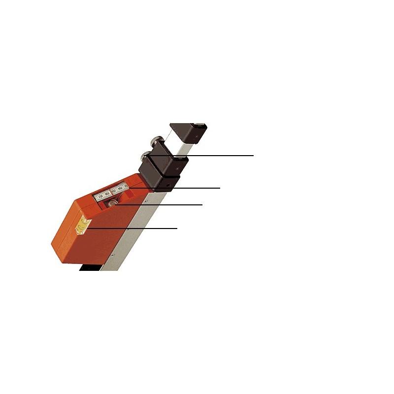 Nedo mEssfix-S 5m mire télescopique (F580151)