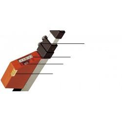Nedo mEssfix-S 6m mire télescopique (F680151)