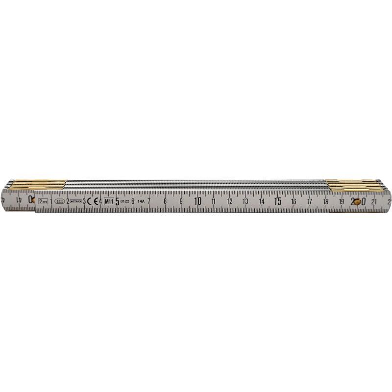 Mètre pliant Métal 1950/ 1m RICHTER