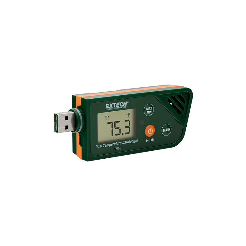 THERMOMETRE double USB datalogger TH30
