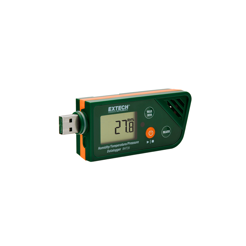 RHT35 Enregistreur d'humidité/température/pression