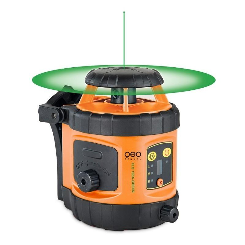 Laser rotatif FLG190A-GREEN + FR45 GEO FENNEL