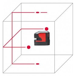 Pack LINO L2P5-1 laser lignes et points LEICA + trépied TRI70