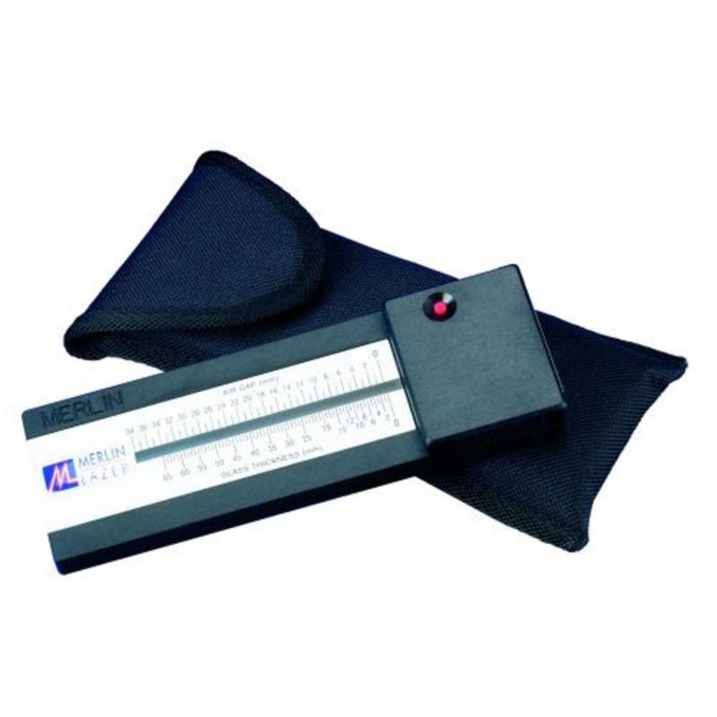 Mesureur d'épaisseur du verre laser ( Merlin Lazer Gauge - French)