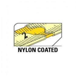 Ruban acier recouvert Nylon super action METRICA 50mx13mm classe II