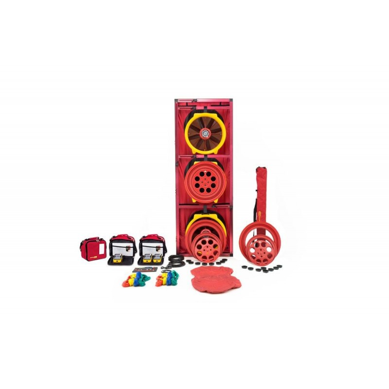 BLOWER DOOR RETROTEC EU5310 - 3x FAN5000 + DM32WIFI + Porte large