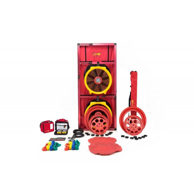 BLOWER DOOR RETROTEC EU5210 - 2x FAN5000 + DM32WIFI + Porte large