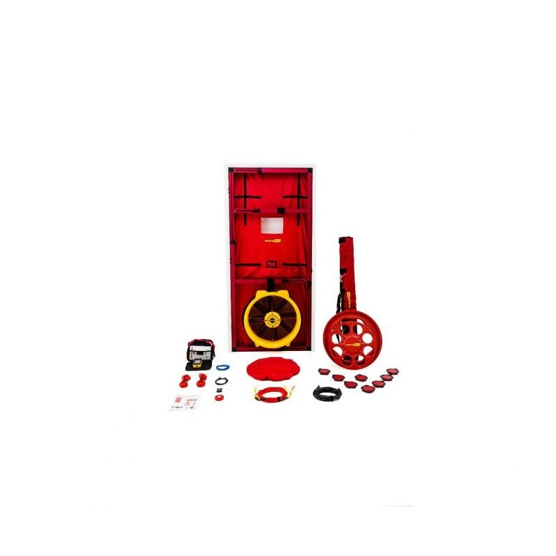 BLOWER DOOR RETROTEC EU5110 - 1x FAN5000 + DM32WIFI + Porte large