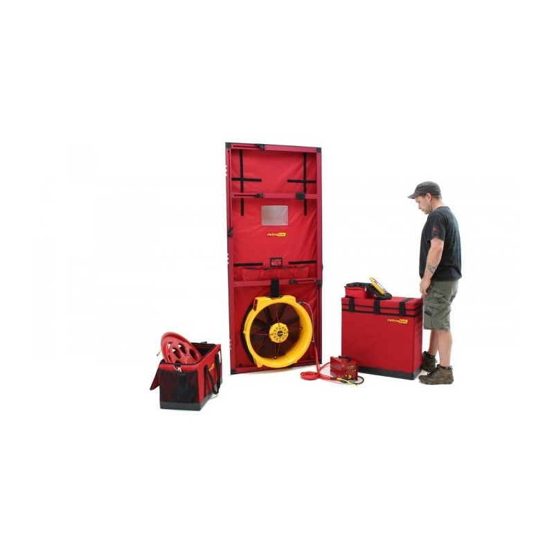 BLOWER DOOR RETROTEC EU6100 - 1x FAN6000 + DM32 WiFi