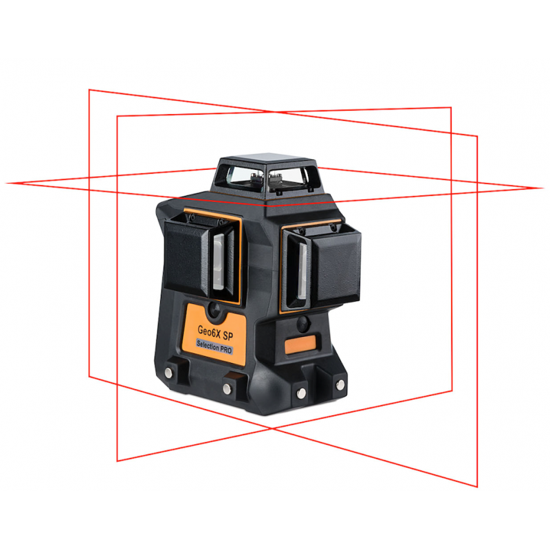 Lasers Geo6X SP KIT - 3x360° Rouge
