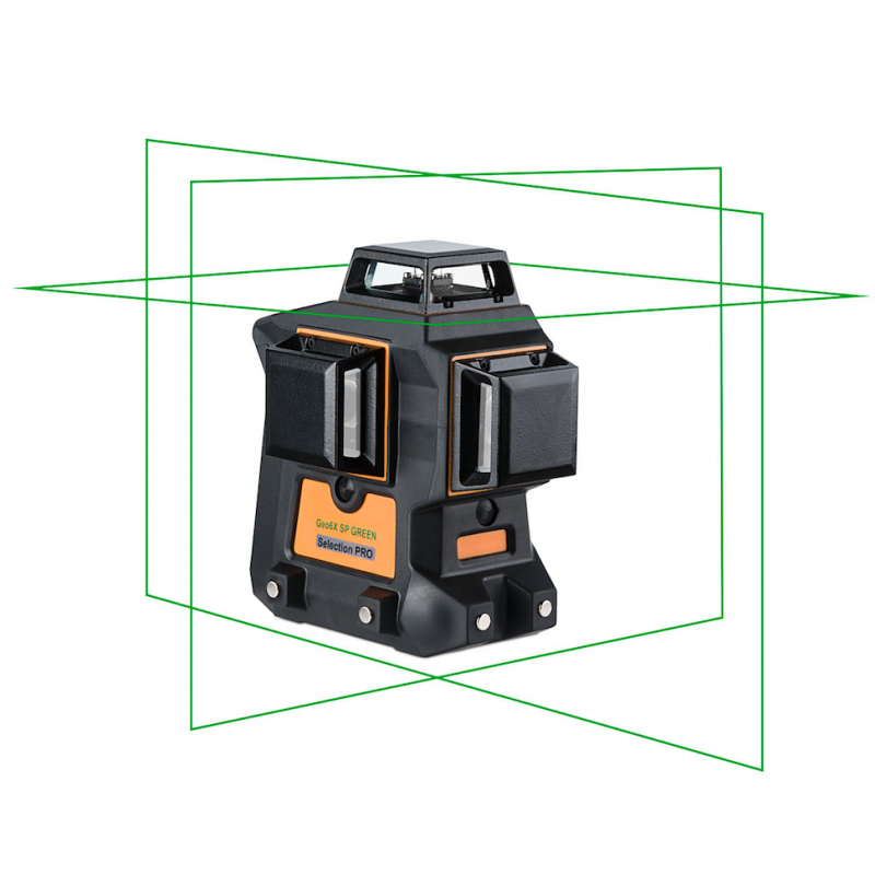 Laser lignes 3 X 360° - 6 croix lasers Geo6X SP GREEN KIT GEO FENNEL