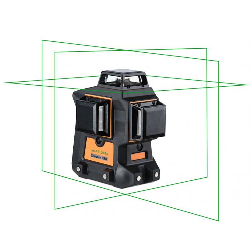Lasers Geo6X SP GREEN KIT 3x360° VERT