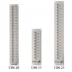 Réglet ALU anodisé 222 x 33 1,5 mm 13N-20