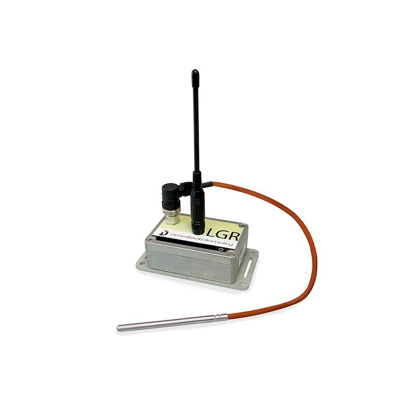 Data Logger Industriel LGR-33 IP65 Newsteo pour sonde externe T° (PT1000)