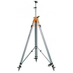 Trépied aluminium lourd à colonne et manivelle NEDO 1,77 à 4,00 REF 210442