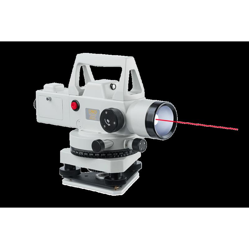 Niveau optique d'ingénieur GFE 32L avec pointeur laser