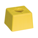 Pack 10 bornes polyroc standard jaune + amarres de 600 mm FENO