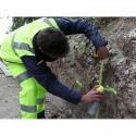 Traceur de chantier IDEAL SPRAY bleu Soppec