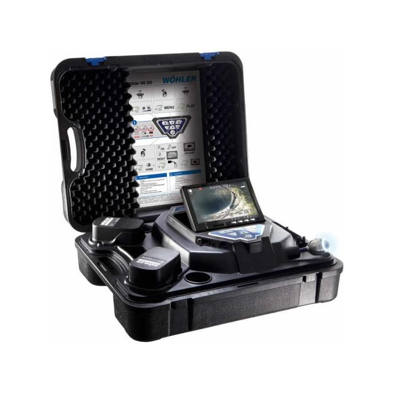 Wöhler VIS350 PLUS Caméra d'inspection 30 m tête détachable Ø 40 mm