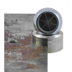 Base aimanté force 2kg pour prisme boule Ø 38,1mm Bohnenstingl